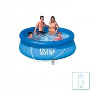 INTEX™ Easy Set Pool - Ø 244 cm - Incl. pomp