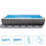 INTEX™ Ultra Frame Pool - 732 x 366 cm