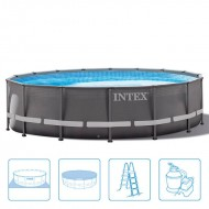 INTEX™ Ultra Frame Pool incl. zandfilterpomp - Ø 488 cm