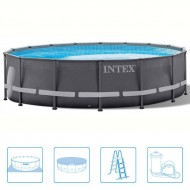 INTEX™ Ultra Frame Pool - Ø 488 cm