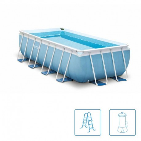 INTEX™ Prism Frame Pool - 400 x 200 cm